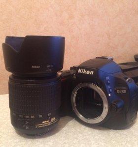 Nikon D5100 + nikkor 55-200