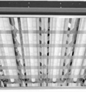 Продам люминесцентные светильники б/у