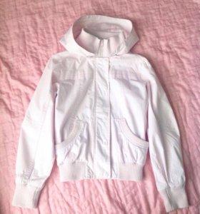 Куртка розовая , для девочки