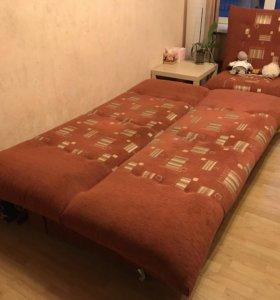 Диван-кровать + кресло