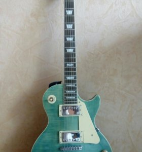 Gibson LesPaul traditional ocean blue