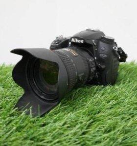 Nikon D7000 + объектив Nikon AF-S DX 18-200mm