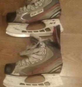 Хоккейные коньки bauer x4.0 36 размер
