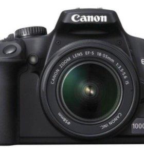 Фотоаппарат Canon 1000D kit