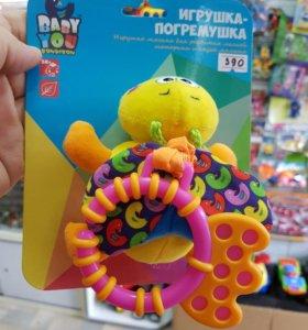 """Развивающая мягкая игрушка """"пчелка"""""""