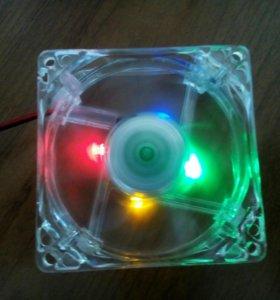 Светящийся кулер для компа DC BRUSHLESS HXS