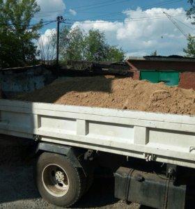 Песок Гравий до 4тонн 1500 руб