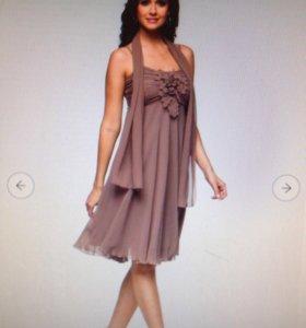 Коктейльное платье. Новое!!!!!!
