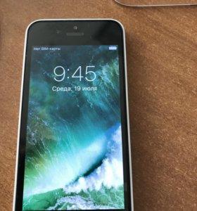 Iphone 5c 8 gb белый