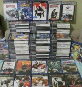 Диски на Playstation 2 лицензионные
