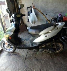 Скутер 50к.