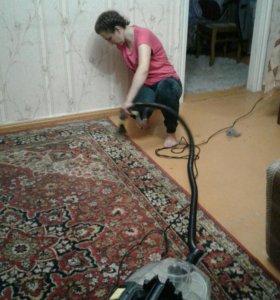 Химчистка мягкой мебели и ковров, паласов.