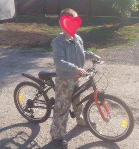 Велосипед детский 6-ти скоростной