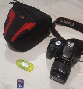 Canon EOS 550D (18-55mm) + сумка