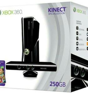 Игровая приставка X-BOX 360 SLIM 250G +Kinect