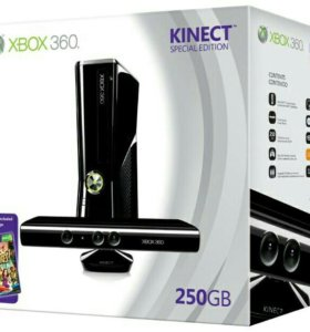X-BOX 360 SLIM 250G +Kinect