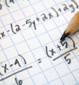 Репетитор по математике(алгебра, геометрия)