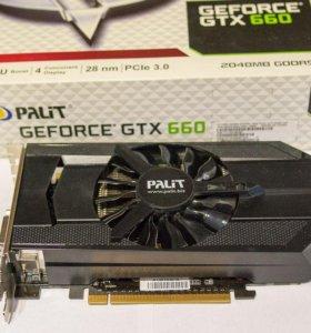 Видеокарта Palit Geforce GTX 660 2GB