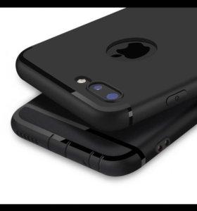 Чехол для iPhone 5,5s, 6/6s 7, plus 6,7 8 стекло