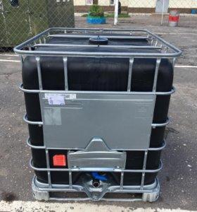 Еврокуб 1000 литров, черный