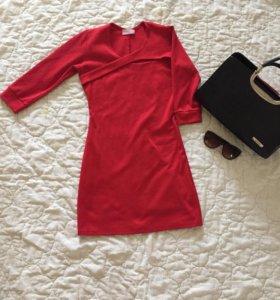 Красное платье 42 р.