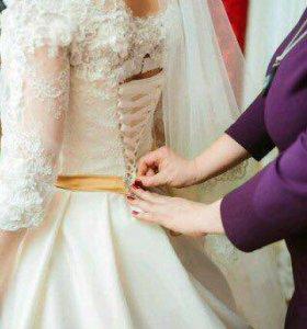 Платье принцессы свадебное