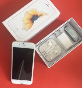 iPhone 6s 16 gb gold.