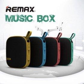 Колонка портативная Remax RB-X2 mini+подарок
