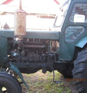 трактор т40 с прицепом 2птс4