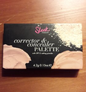 Палетка Sleek - консилер + корректор