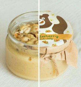 крем мед с фундуком