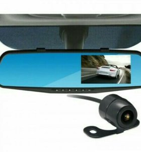 Видеорегистратор зеркало с 2-мя камерами!