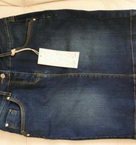 Новая джинсовая юбка.
