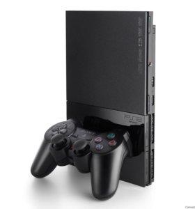 PS2+ Джойстик+ Игры