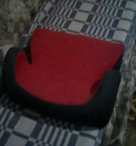 Детское кресло(красно-черный)
