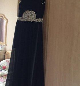 Платье чёрное, вчернее
