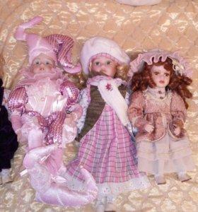 Фарфоровые куклы от 30 до 40 см.