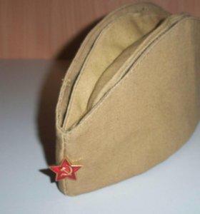 Пилотка солдатская СССР