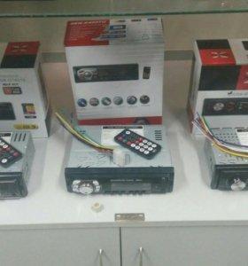 Новые автомагнитолы с FM, USB и AUX