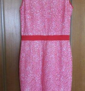Msgm Платье Италия. Кружево розовое Оригинал