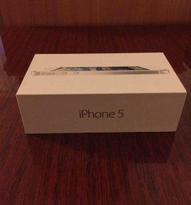 Коробка от iPhone 5, 32 GB