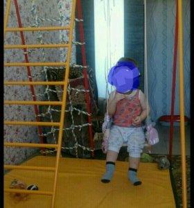 Качеля детская, с лестницами