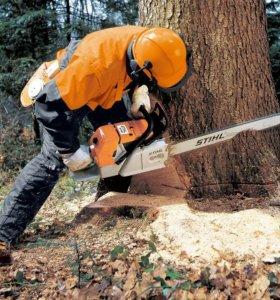 Спиливание Кронирование Деревьев