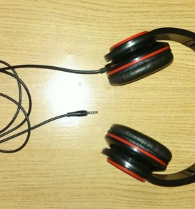Наушники с микрофоном molecula chm-426 чёрные