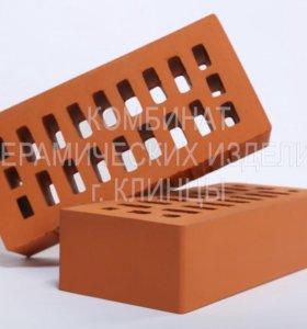 Кирпич М150 одинарный лицевой цвет «Персик»