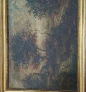 Картина куплена в Италии