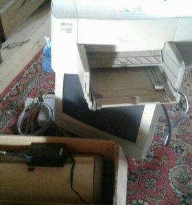 Принтер и компьютер