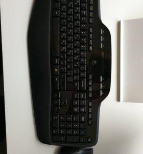 Беспроводные клавиатура и мышь Logitech mk700