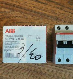 Автоматический выключатель АВВ С40