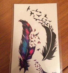 Татуировки переводные